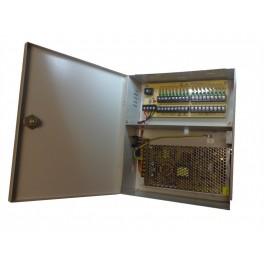 9 Port 10 Amp 12V Jännitelähde